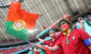 Portugal fans.