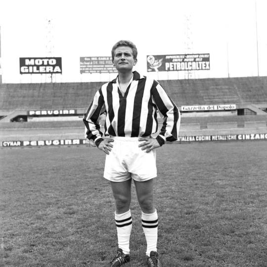Giampiero Boniperti spent his entire playing career at Juventus