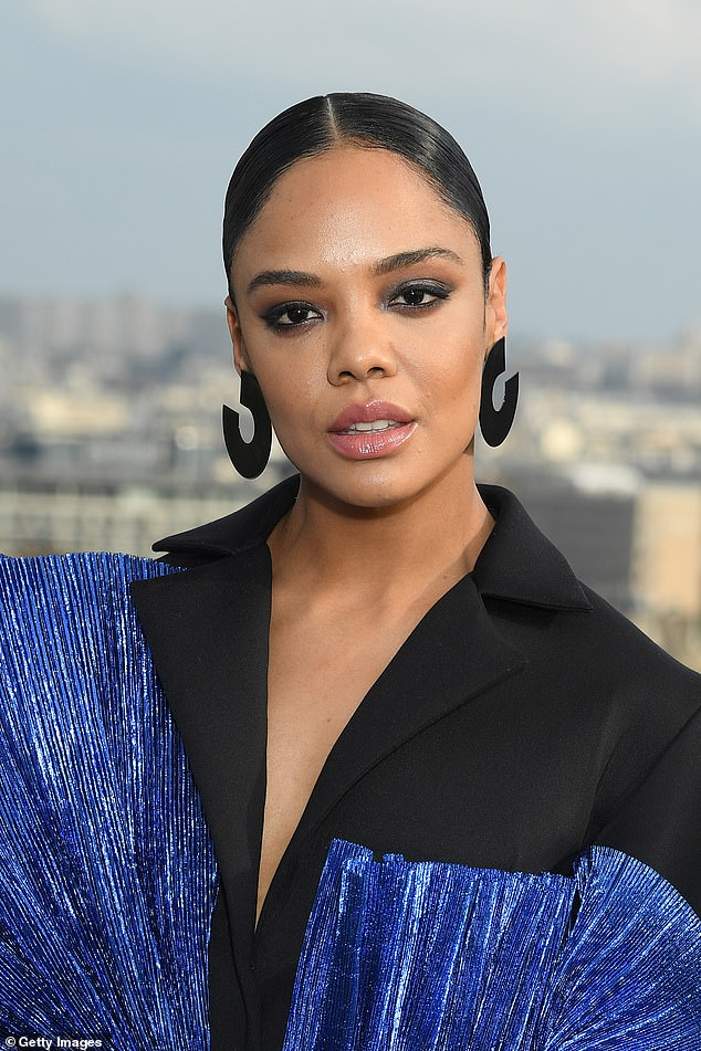 Coastal: Tessa Thompson, who plays Valkyrie in the blockbuster franchise, stayed in a $5.1million home in North Bondi, just a five-minute walk from the beach