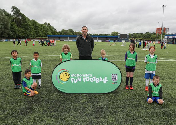 Arsenal and England legend Martin Keown is calling on families to sign up for McDonald's free Fun Football sessions, which will get thousands of children playing football this summer. To find a local session go to: mcdonalds.co.uk/football
