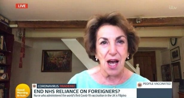 """Edwina Currie ordered Adil Ray to """"calm down"""" during their debate on the show"""