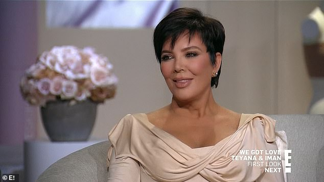 Naive:'I learned a lot along the way. I think I was so naive and uneducated in this whole area,' Kris said