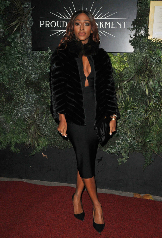 Alexandra Burke at the Cabaret All Stars Christmas Special featuring Duncan James, December 2020