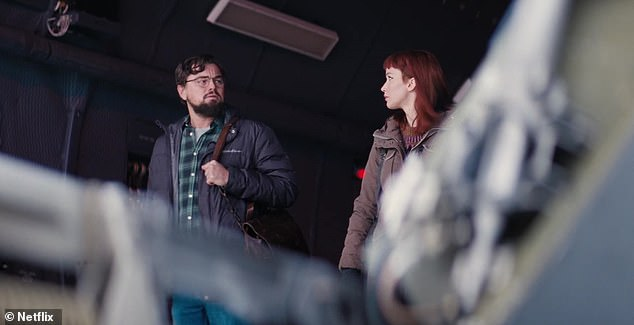 Premieres later this year on Netflix! Audiences can next catch Leonardo as low-level astronomer Dr. Randall Mindy in Adam McKay's asteroid disaster comedy Don't Look Up