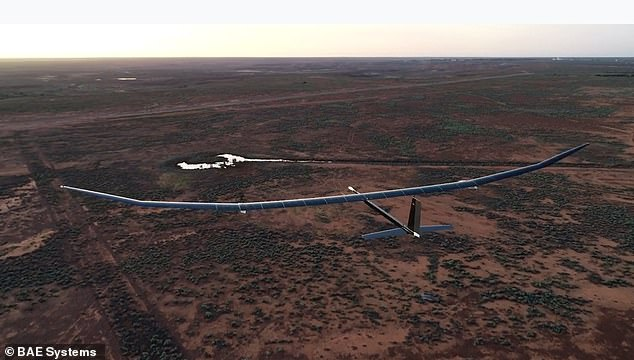 The 150kg drone is able to carry a payload of up to 15kg including cameras, sensors and communications equipment to allow troops to talk to each other or provide internet access to rural locations during a natural disaster or emergency