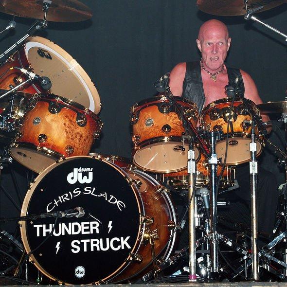 AC/DC drummer Chris Slade