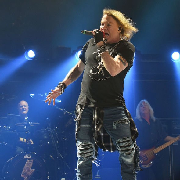 AC/DC: Axl Rose replaced Brian Johnson