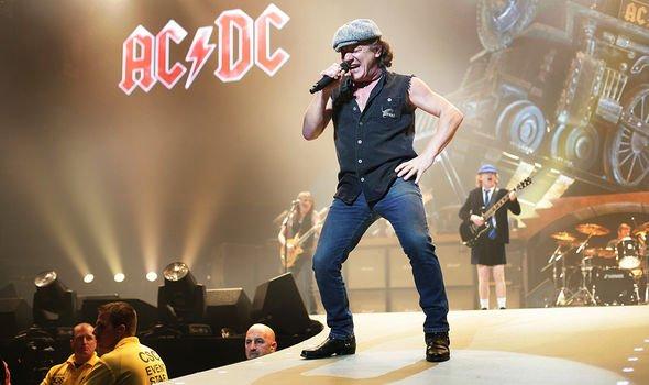 AC/DC:  Brian Johnson