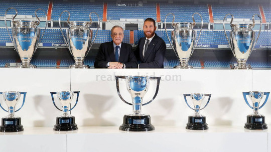 Sergio Ramos is leaving Real Madrid on a free transfer this summer
