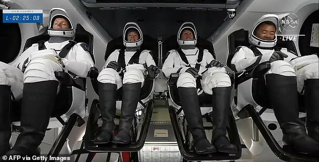ESA astronaut Thomas Pesquet is currently on the ISS, becoming the first European to fly to the station on a SpaceX Crew Dragon capsule