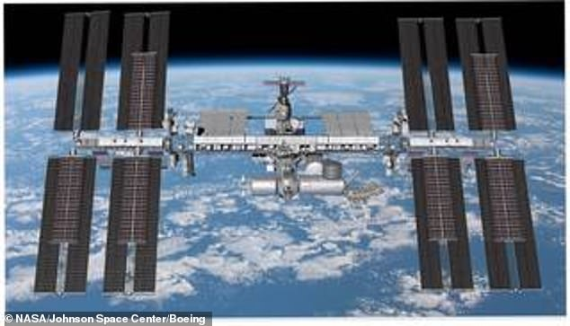 The International Space Station (pictured) will be the main location for astronaut visits, but future missions could see crew visit the upcoming Lunar Gateway