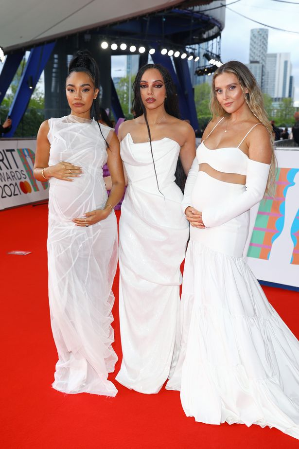 Leigh-Anne Pinnock and and Perrie Edwards of Little Mix are both pregnant