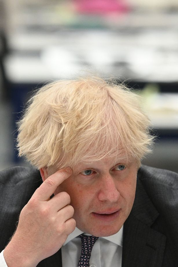 Boris Johnson is hiding