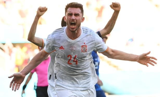 Spain put five past Slovakia to finally announce themselves at Euro 2020