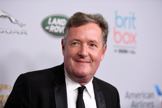 Piers Morgan attends the 2019 British Academy Britannia Awards presented by American Airlines and Jaguar Land Rover at The Beverly Hilton Hotel on October 25, 2019, in Beverly Hills, California. (Frazer Harrison/Getty Images for BAFTA LA/TNS)