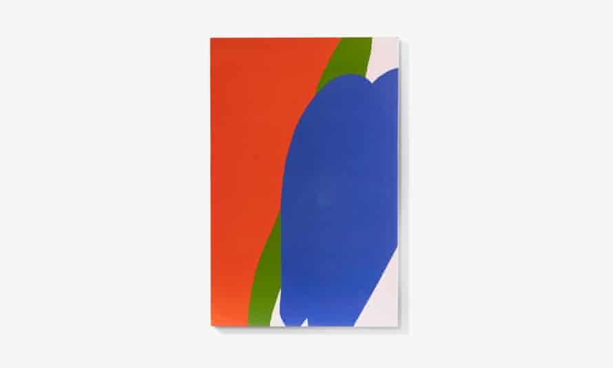 Apple by Paul Hultberg. Enamel on steel, 1986