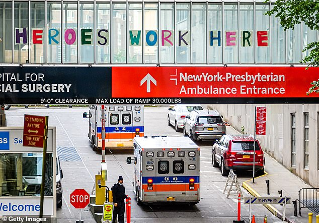 NewYork-Presbyterian hospital in New York City is requiring all of its employees to get at least one COVID-19 vaccine shot by September 1 in order to keep their jobs