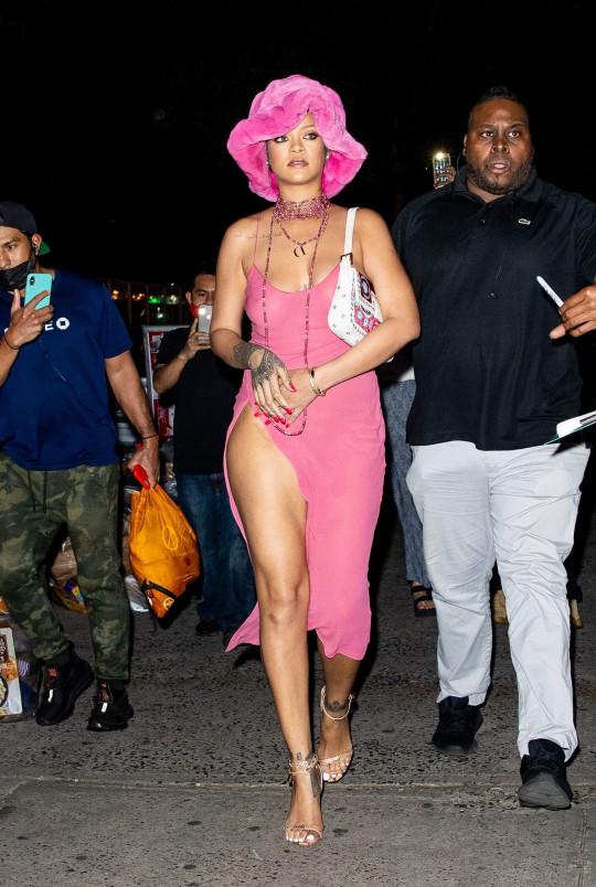 Rihanna on date night with A$AP Rocky