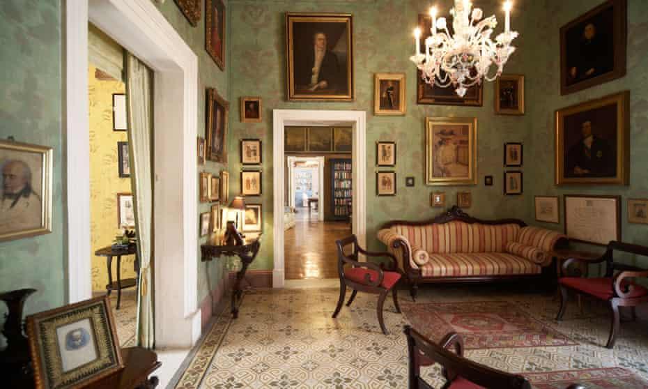 The Green Room in Casa Rocca Piccola.