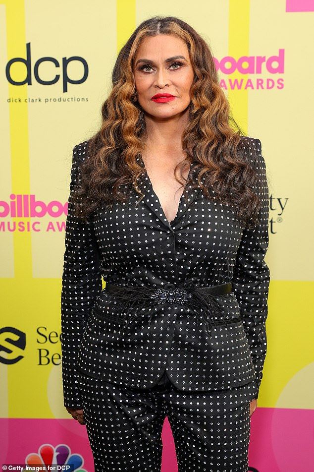 Enough: Tina Knowles lead celebs on Friday voicing their dissatisfaction with the verdict