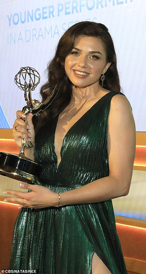 Best Younger Performer:Victoria Konefal of Days Of Our Lives won best younger performer in a drama series