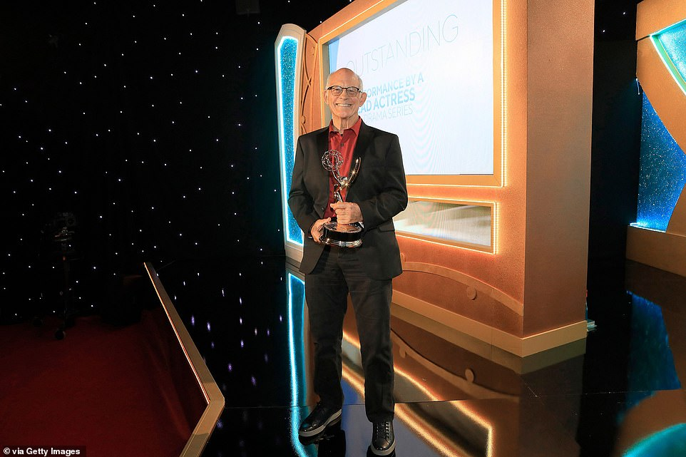 Supporting: Max Gail won in the supporting actor for a drama series category for his work on General Hospital
