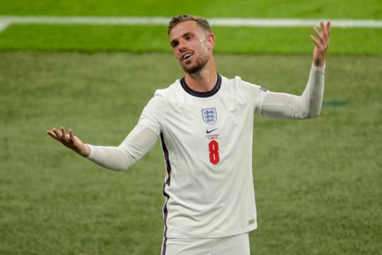 Jordan Henderson managed 45 minutes against Czech Republic