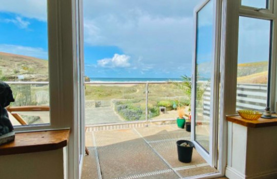 Four-bedroom end-of-terrace property, Mawgan Porth, Cornwall, £850,000