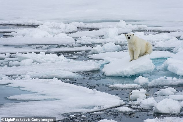Approximately 12 temperature tipping points have been found in the climate system. These include a warming of 3.6 degrees (2C) is enough to melt glaciers in Greenland and the West Arctic