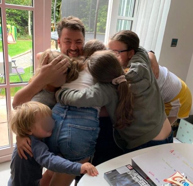 Jason Manford and family