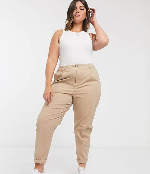ASOS Curve chino trousers