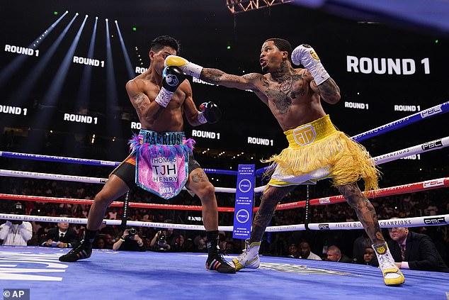 Las Vegas flash was brought to Atlanta for Saturday night's boxing match between Gervonta 'Tank' Davis and Mario 'El Azteca' Barrios