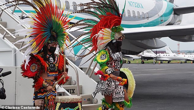 Henry splashed out half a million dollars on a private 737 plane to fly Barrios and his family to Atlanta ahead of the fight