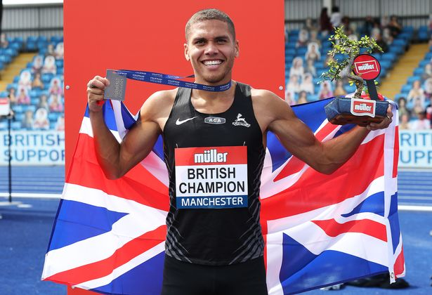 British 800m champion Elliot Giles
