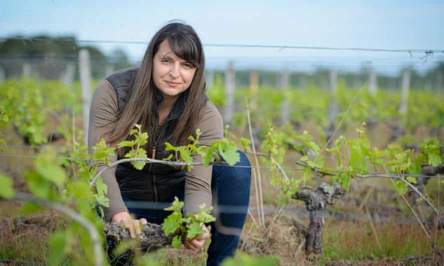 Isabelle Pangault, owner of L'Affût vineyard