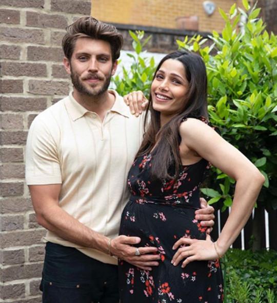 Freida Pinto and fiance Cory Tran