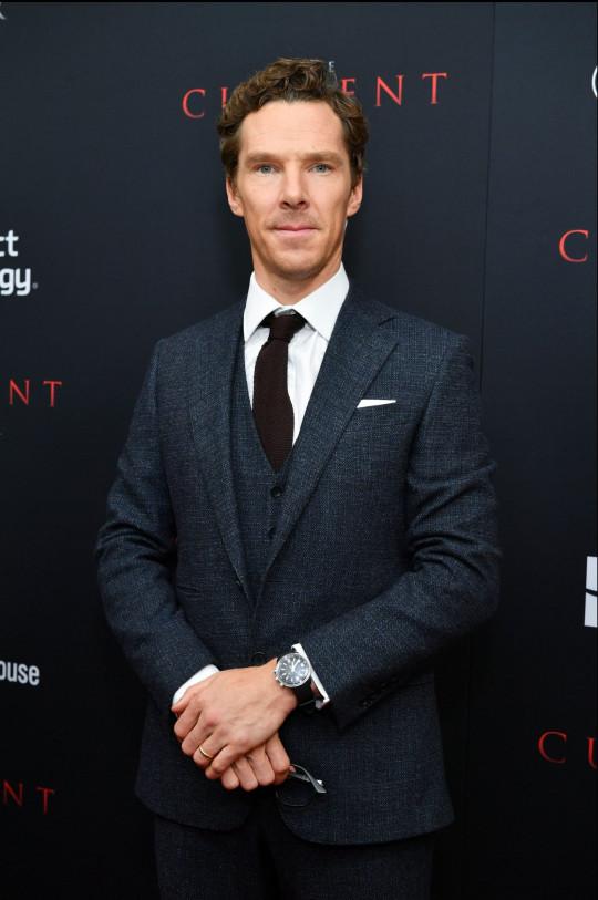 Benedict Cumberbatch at 'The Current War' film premiere, 21 October 2019 in New York