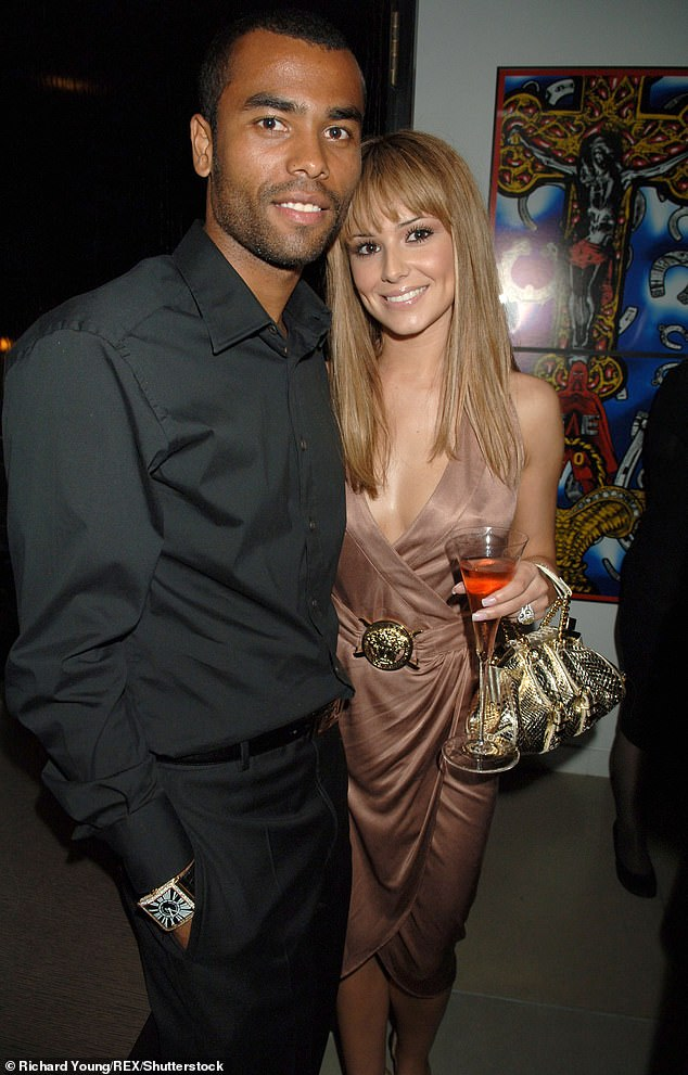 Ill-fated: She was married to footballer Ashley Cole from 2006, but they split after four years after he was alleged to have cheated on her