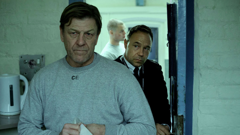 Sean Bean and Stephen Graham in Jimmy McGovern's Time