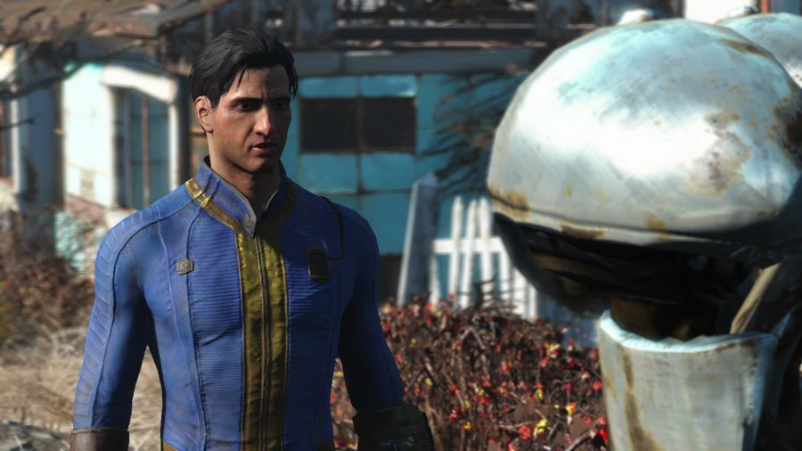 Voiced male protagonist in Fallout 4