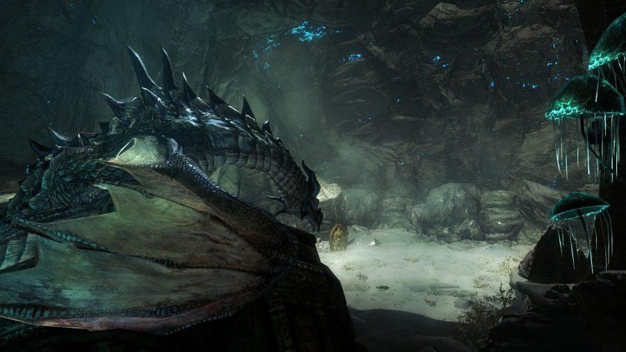 Wrymstooth Skyrim mod with dragons