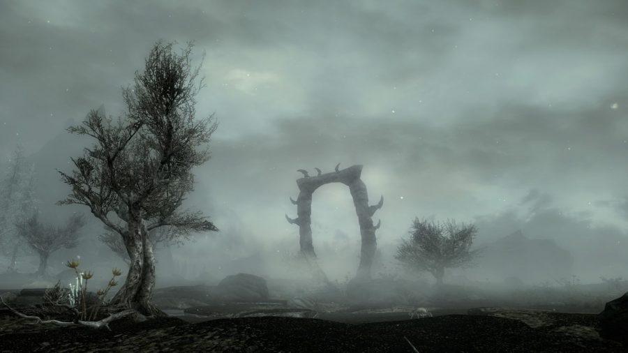 Skyrim mod Wrymstooth
