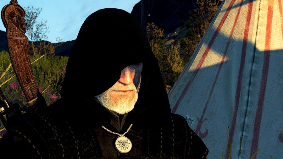 Geralt of Rivia in a night to Remember mod
