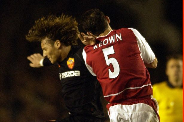 Keown was a no-nonsense defender for the Gunners