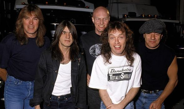AC/DC with Chris Slade