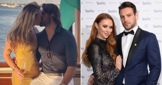 Ben Foden and his wife
