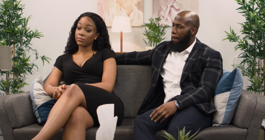 Paul and Chioma on Blue Therapy