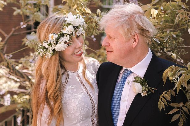 Boris Johnson tied the knot with Carrie Symonds, his third wife, in a secret ceremony at the weekend