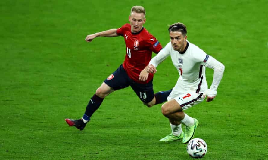 Jack Grealish of England impressed against Czech Republic along with Bukayo Saka.