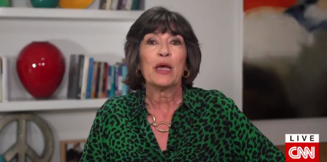 CNN correspondent Christiane Amanpour is being treated for ovarian cancer